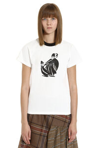 Printed cotton t-shirt, T-shirts Lanvin woman