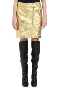 Zipped mini skirt, Mini skirts Moschino woman