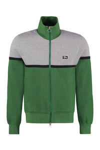 Cotton full-zip sweatshirt, Zip through AMI PARIS man