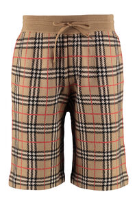 Merino wool bermuda-shorts, Shorts Burberry man