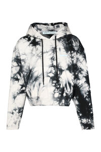 Tie-Dye cotton hoodie, Hoodies Off-White man