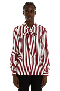 Striped silk shirt, Shirts MICHAEL MICHAEL KORS woman