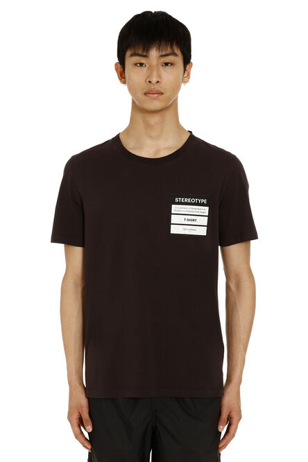 Stereotype cotton t-shirt, Short sleeve t-shirts Maison Margiela man