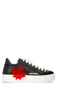 Leather platform sneakers, Low Top sneakers Dsquared2 woman