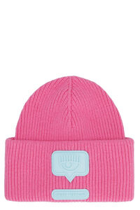 Ribbed knit beanie, Hats Chiara Ferragni Collection woman