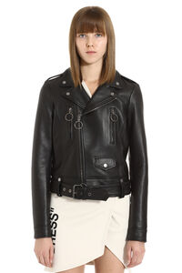 Lambskin biker jacket, Leather Jackets Off-White woman