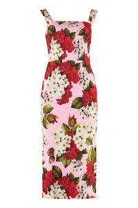 Crepe cady dress, Printed dresses Dolce & Gabbana woman