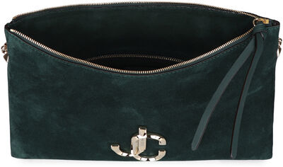 Varenne suede shoulder bag