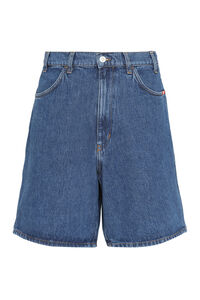 Bernie denim bermuda shorts, Shorts Amish man