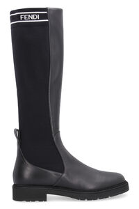 Leather knee-boots, Knee-high Boots Fendi woman
