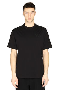 SS Tee short sleeves printed cotton T-shirt, Short sleeve t-shirts Adidas Y-3 man