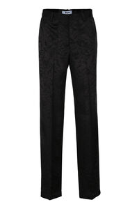 Jacquard tuxedo trousers, Trousers suits MSGM woman