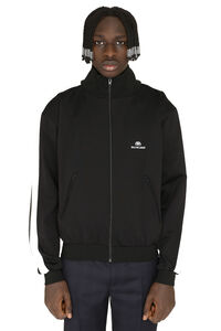 Full zip hoodie, Zip through Balenciaga man