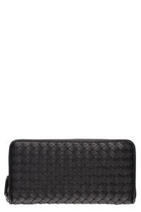 Intrecciato zip around wallet, Wallets Bottega Veneta woman
