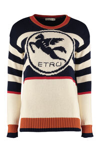 Cotton crew-neck sweater, Crew neck sweaters Etro woman