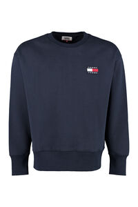Cotton crew-neck sweatshirt, Sweatshirts Tommy Jeans man
