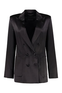 Glauco silk double-breasted blazer, Blazers Max Mara woman