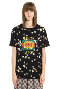 Crew-neck cotton T-shirt, T-shirts Gucci woman