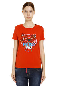 Printed cotton t-shirt, T-shirts Kenzo woman