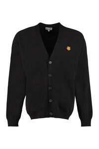 Buttoned cotton cardigan, Cardigans Kenzo man