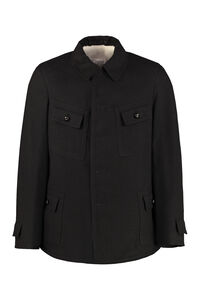 Wool-cotton blend blazer, Overcoats Maison Margiela man
