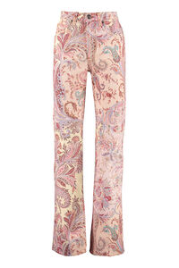 5-pocket jeans, Straight Leg Jeans Etro woman