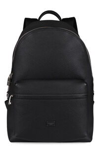 Vulcano leather backpack, Backpack Dolce & Gabbana man