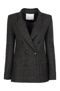 Double-breast wool blazer, Blazers Giada Benincasa woman