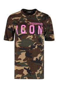 Icon cotton T-shirt, T-shirts Dsquared2 woman