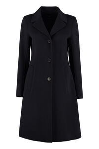 Uggioso single-breasted wool coat, Knee Lenght Coats Weekend Max Mara woman
