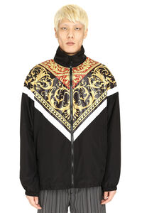 Techno nylon jacket, Raincoats And Windbreaker Versace man