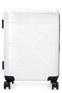 Polycarbonate hardshell suitcase, Luggage & Travel Off-White man