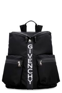Leather details Spectre nylon backpack, Backpack Givenchy man