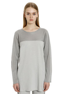 Agio lurex knitted top, Long sleeved Max Mara Studio woman