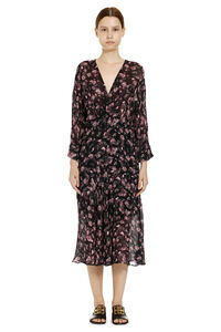 Temper floral print crepe dress, Printed dresses Iro woman
