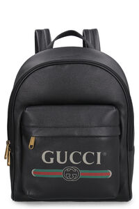 Leather backpack, Backpack Gucci man