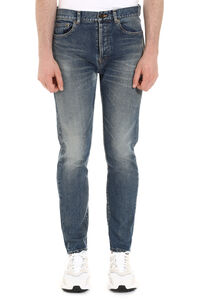 5-pocket jeans, Straight jeans Saint Laurent man