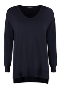 Eliseo viscose sweater, V neck sweaters Weekend Max Mara woman