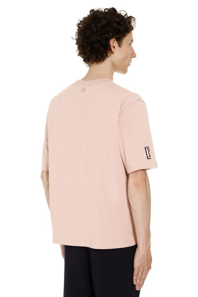 Cotton t-shirt with patch