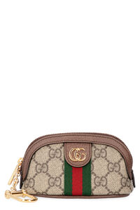 GG supreme fabric key-holder pouch, Keyrings Gucci woman