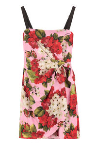 Printed corset dress, Mini dresses Dolce & Gabbana woman