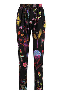 Christine printed silk pants, Tapered pants Stella McCartney woman