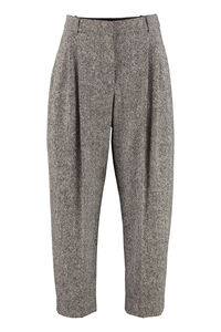 Pantaloni in lana, Pantaloni larghi Stella McCartney woman