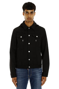 Denim jacket, Denim jackets Alexander McQueen man