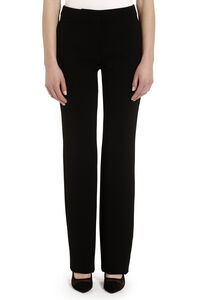 Flared stretch-cady trousers, Trousers suits Moschino woman