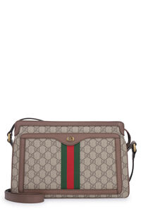 Ophidia GG Supreme fabric shoulder bag, Messenger bags Gucci man