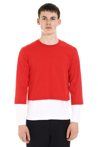 Cotton T-shirt, Long sleeve t-shirts Comme des Garçons SHIRT man