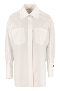 Cotton poplin shirt, Shirts Fendi woman