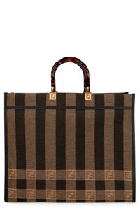 Sunshine jacquard fabric tote, Tote bags Fendi woman