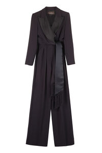 Gommoso maxi lapel collar jumpsuit, Full Length jumpsuits Max Mara woman